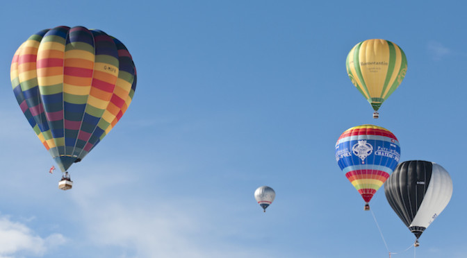 38. Internationales Ballonfestival in Château-d'Oex